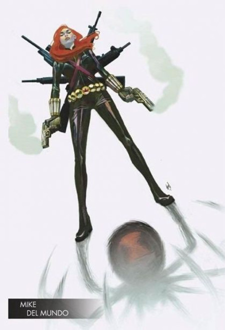 Marvel Infinity Countdown: Black Widow, Vol. 1 #1B Comic Book
