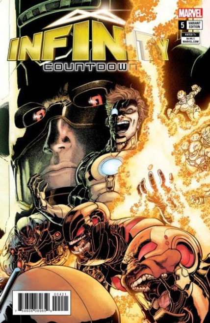 Marvel Infinity Countdown #5B Comic Book