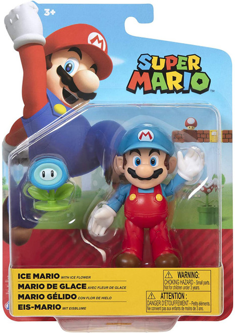 World of Nintendo Super Mario Wave 23 Ice Mario Action Figure [with Ice Flower]