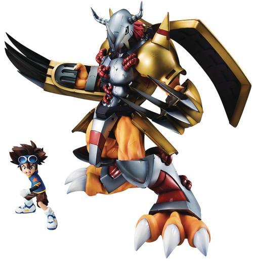 Digimon Adventure Precious GEM Series Wargreymon with Tai 10-Inch Collectible PVC Statue (Pre-Order ships October)