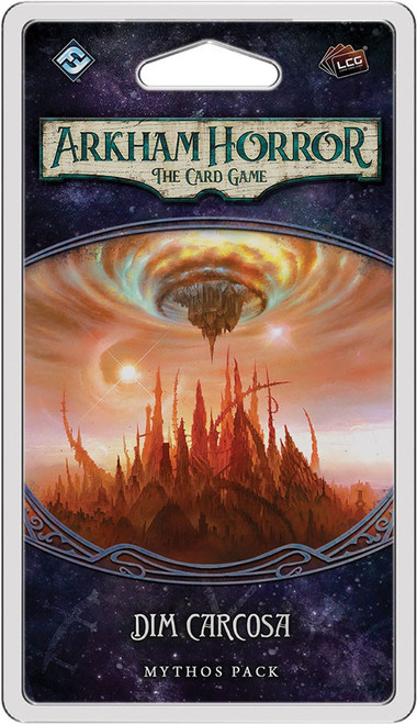 Arkham Horror The Card Game The Path to Carcosa Dim Carcosa Mythos Pack [Damaged Package]