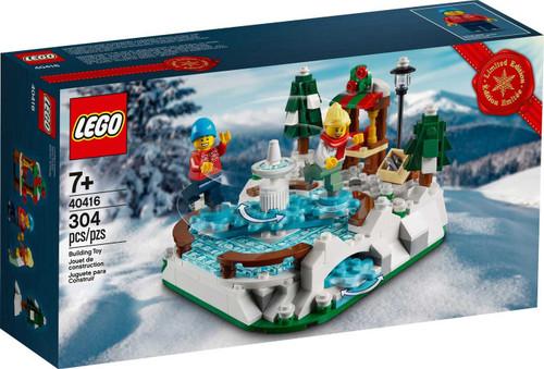 LEGO Christmas Ice Skating Rink Exclusive Set #40416