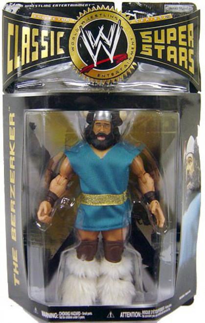 WWE Wrestling Classic Superstars Series 23 Berzerker Action Figure [Damaged Package]