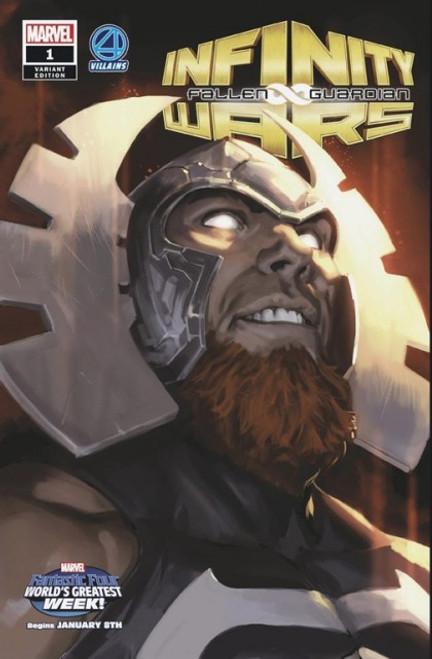 Marvel Infinity Wars: Fallen Guardian #1D Comic Book