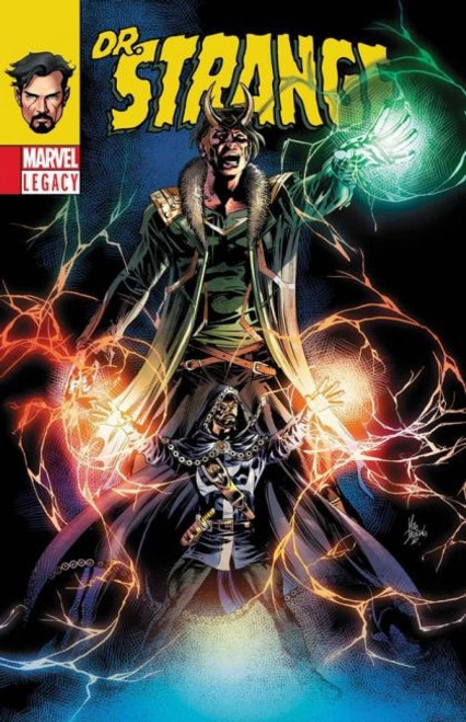Marvel Doctor Strange, Vol. 4 #381 Comic Book [Lenticular Cover, First Bats the Dog]