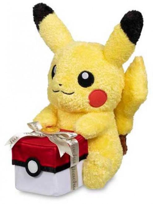 Pokemon Pikachu with Gift Box Exclusive 11-Inch Plush