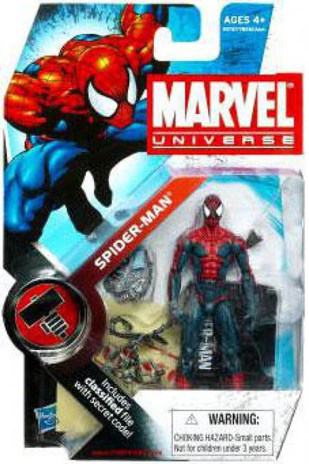 Marvel Universe Series 6 Spider-Man Action Figure #1 [House of M, Damaged Package]