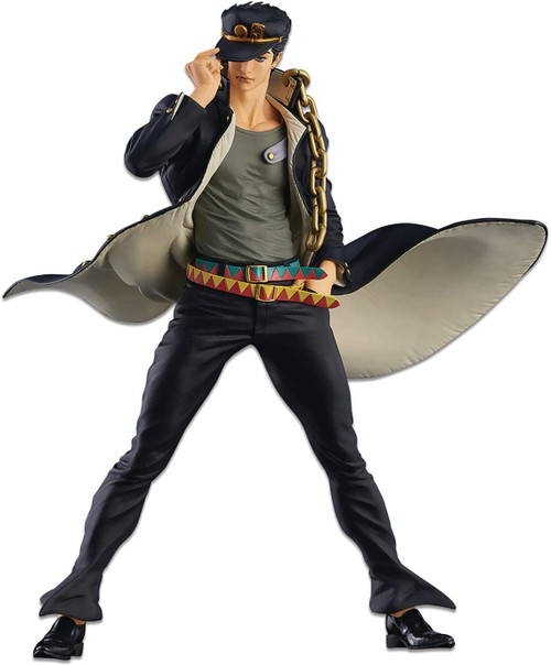 JoJo's Bizarre Adventure: Stardust Crusaders Super Master Stars Piece Jotaro Kujo 6.3-Inch Collectible PVC Figure [Version B] (Pre-Order ships May)