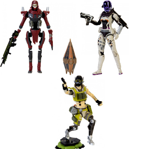 Apex Legends Series 2 Revenant, Wraith & Octane Set of 3 Action Figures
