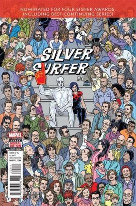 Marvel Silver Surfer, Vol. 8 #5 Comic Book