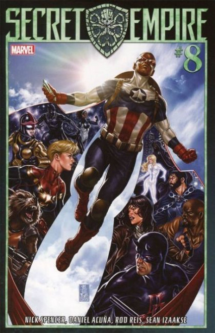 Marvel Secret Empire #8A Comic Book