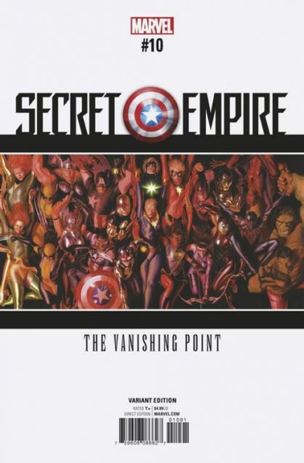 Marvel Secret Empire #10K Comic Book