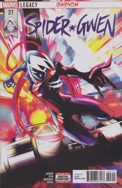 Marvel Spider-Gwen, Vol. 2 #27A Comic Book