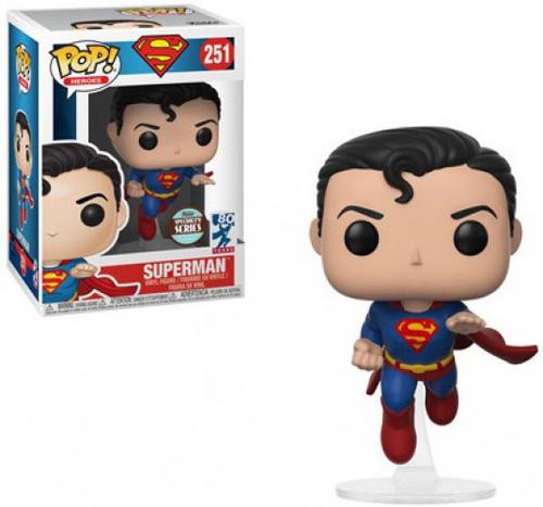 Funko DC POP! Heroes Superman Exclusive Vinyl Figure #251 [Flying, Specialty Series, Loose]