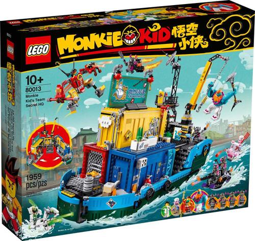 LEGO Monkie Kid's Team Secret HQ Exclusive Set #80013