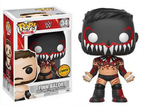 Funko WWE Wrestling POP! Sports Finn Balor Vinyl Figure [Face Paint, Chase Version, Damaged Package]