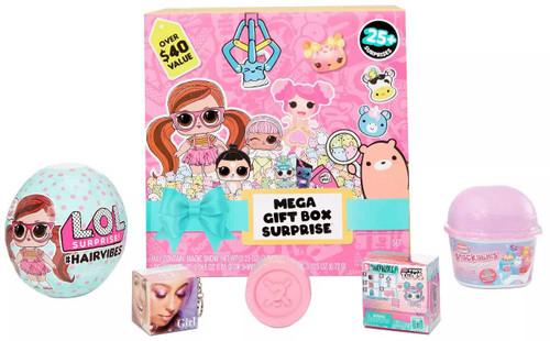 LOL Surprise/Lalaloopsy/Moj Moj/Num Noms/Who's That Girl Mega Gift Box Surprise
