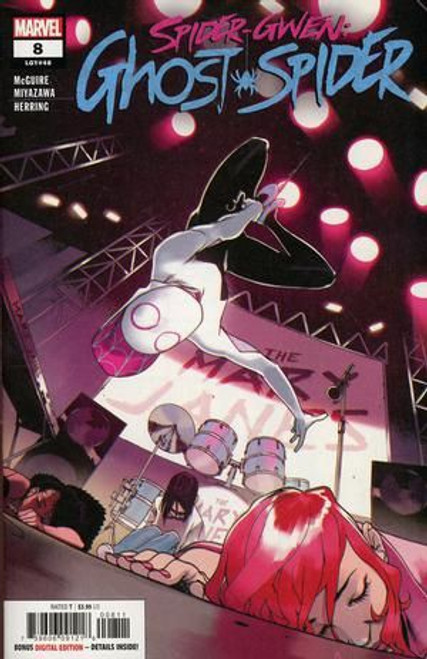 Marvel Spider-Gwen: Ghost Spider #8A Comic Book