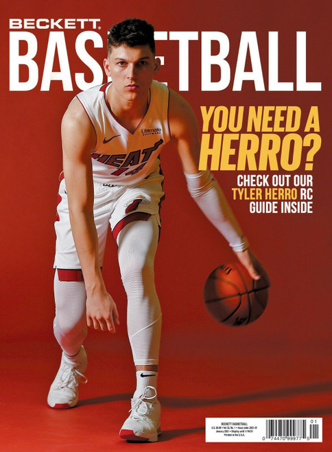 Beckett Vol. 32 Basketball Magazine No. 1