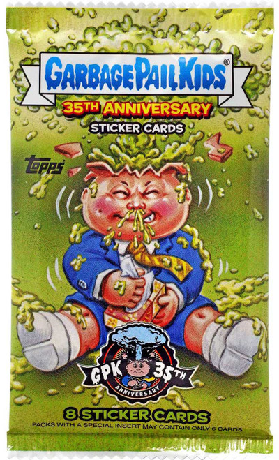 Garbage Pail Kids Topps 2020 Series 2 GPK 35th Anniversary Trading Card Pack [8 Sticker Cards]