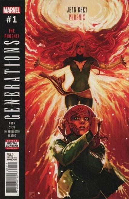Marvel Generations: Phoenix & Jean Grey #1A Comic Book