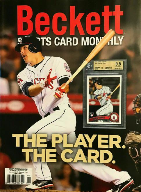 Beckett Vol. 38 Sports Card Monthly Magazine No. 1