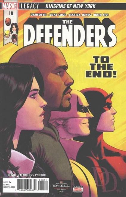 Marvel The Defenders, Vol. 5 #10A Comic Book