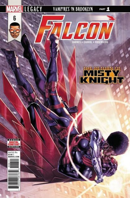 Marvel Falcon, Vol. 1 #6 Comic Book