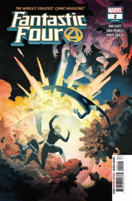 Marvel Fantastic Four, Vol. 6 #2A Comic Book