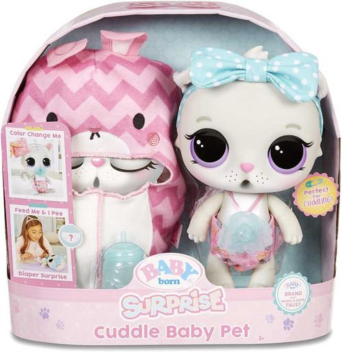Baby Born Cuddle Baby Pet Kitty Doll