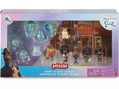 Disney / Pixar MINIS Heart 'N Soul Exclusive Mini Figure 12-Pack Play Set
