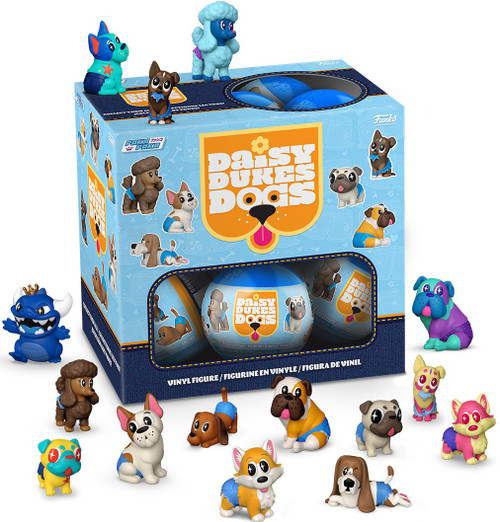 Funko Paka Paka Mini Figure Daisy Dukes Dogs Mystery Box [18 Packs]