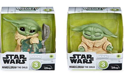 Star Wars The Mandalorian Bounty Collection The Child (Baby Yoda / Grogu) Action Figure 2-Pack [Curious Child & Meditation] (Pre-Order ships May)