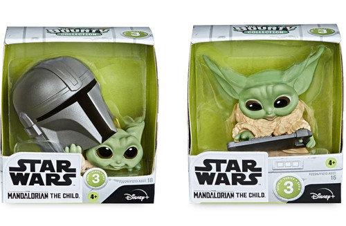 Star Wars The Mandalorian Bounty Collection The Child (Baby Yoda / Grogu) Action Figure 2-Pack [Helmet Peeking & Data Tablet] (Pre-Order ships May)
