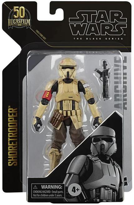 Star Wars Black Series Archive Wave 2 Shoretrooper Action Figure