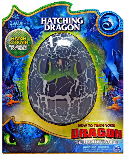 How to Train Your Dragon The Hidden World Hatching Dragon Toothless Figure [Hatch & Train, Version 2]