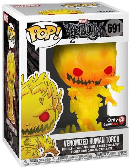 Funko POP! Marvel Venomized Human Torch Exclusive Vinyl Figure [Regular]