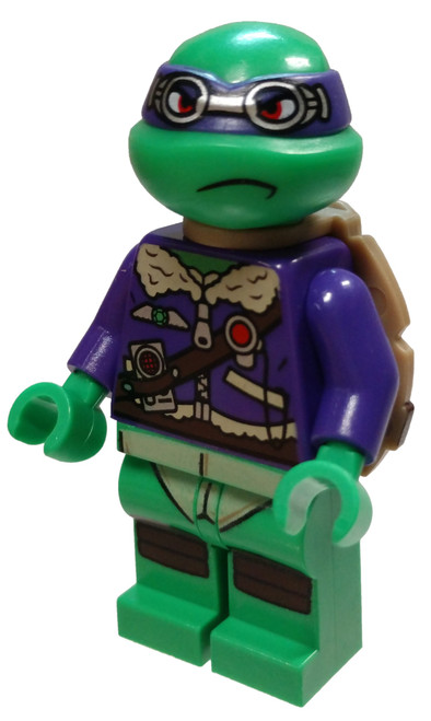 LEGO Teenage Mutant Ninja Turtles Donatello Minifigure [Goggles Loose]