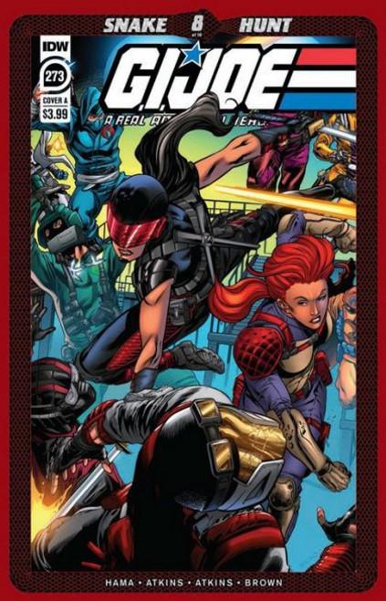 IDW Publishing G.I. Joe: A Real American Hero (IDW), Vol. 1 #273A Comic Book