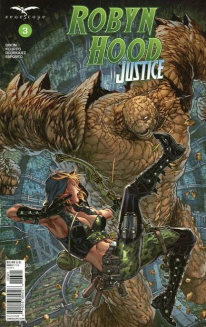 Zenescope Robyn Hood: Justice #3B Comic Book