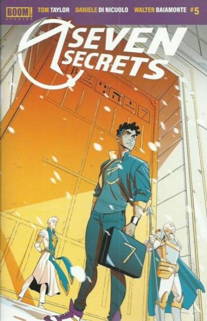Boom! Studios Seven Secrets #5A Comic Book