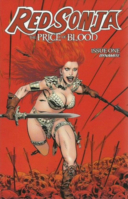 Dynamite Entertainment Red Sonja: The Price of Blood #1B Comic Book