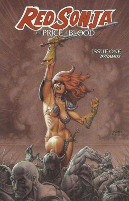 Dynamite Entertainment Red Sonja: The Price of Blood #1C Comic Book