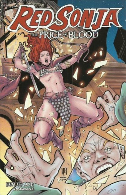 Dynamite Entertainment Red Sonja: The Price of Blood #1D Comic Book