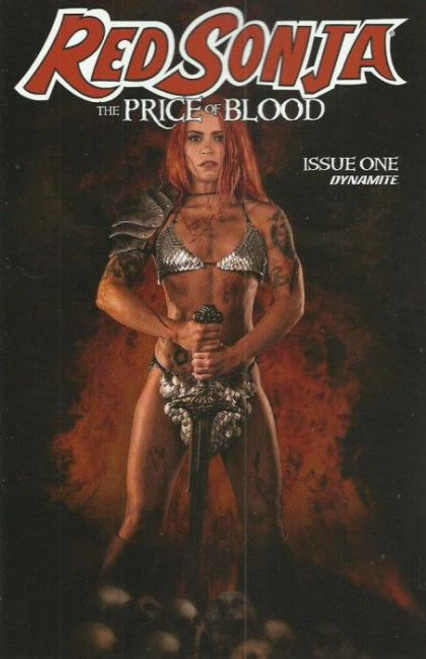 Dynamite Entertainment Red Sonja: The Price of Blood #1E Comic Book