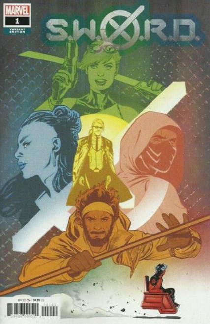Marvel S.W.O.R.D., Vol. 2 #1D Comic Book