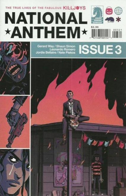 Dark Horse Comics True Lives Fabulous Killjoys: National Anthem #3B Comic Book