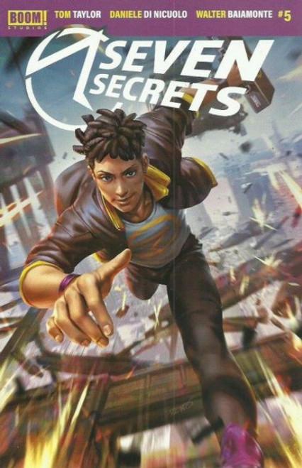 Boom! Studios Seven Secrets #5B Comic Book