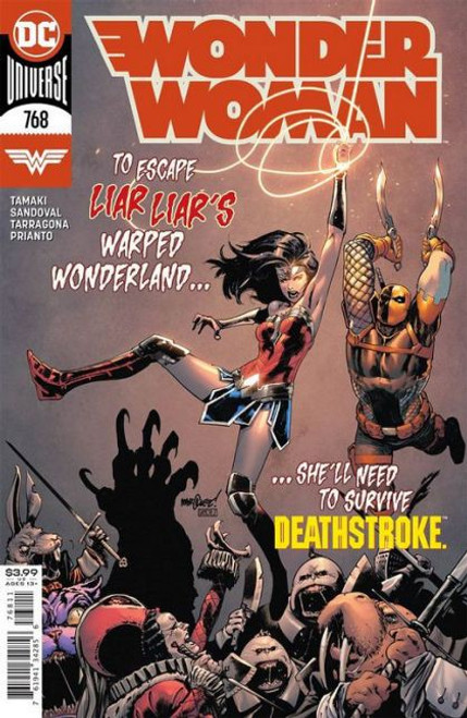 DC Comics Wonder Woman, Vol. 5 #768A Comic Book