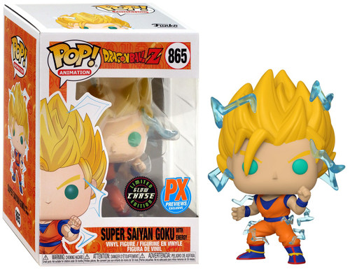 Funko Dragon Ball Z Pop! Animation Super Saiyan 2 Goku Exclusive Vinyl Figure [Glow in the Dark, Chase Version] (Pre-Order ships March)